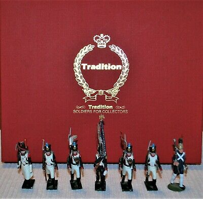 Tradition Toy Soldiers Napoleonic French Line Infantry 1815; Set # 716