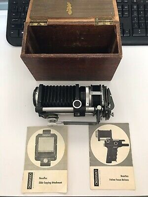 Vintage Camera Bellows And Slide Copying Attachment Novoflex