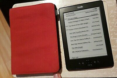 Amazon Kindle Model No DO1100 Black, very Good used condition