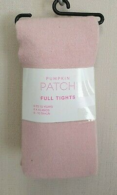 BNWT Pumpkin Patch Brand Girls 8 to 10 Yrs Full Pink Footed Style Tights