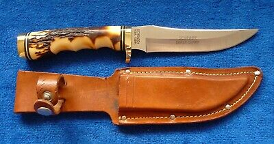 "Schrade 153UH Uncle Henry ""Sharpfinger"" Skinner with Sheath"
