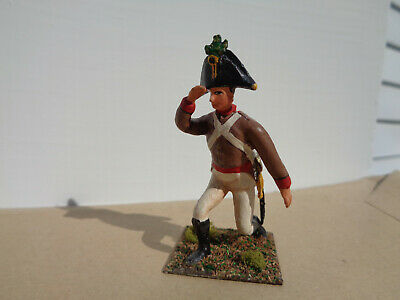 Stadden, Napoleonic Austrian Artillery Officer 1815, well painted lead 54mm, TD