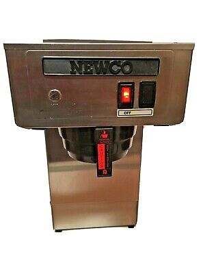 NEWCO Pour Over Commercial Coffee Maker Cafe Brewer Dispenser Stainless NEW UNIT