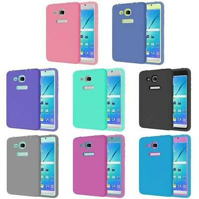 For Samsung Galaxy Tab 3 Lite E A A6 Shockproof Rubber Case Hybrid Case Cover