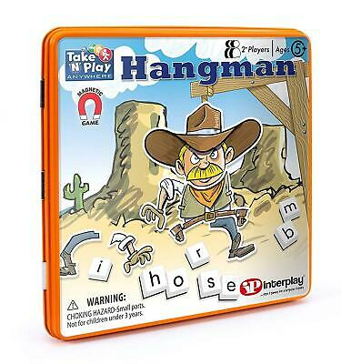 Hangman Magnetic Tin Travel Game, Interplay UK GB001