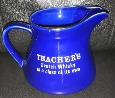 Rare Collectable Teachers Scotch Whisky Jug In Great Used Condition