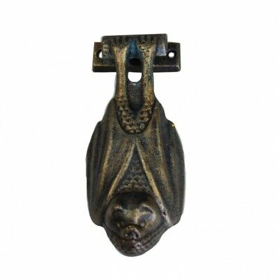 Bat Cast Iron Door Knocker Bronze Antique Style