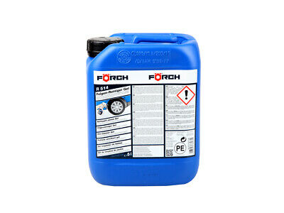 FÖRCH Felgen-Reiniger Gel Felegenreiniger pH-neutral R514 Kanister 5 Liter