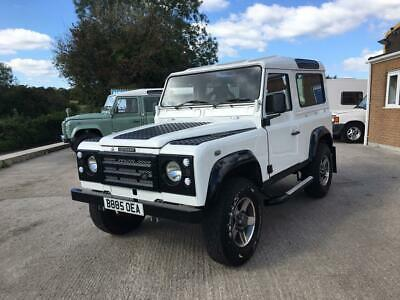 1984 Land Rover Defender 90 200 TDI Station Wagon with Galvanised Chassis