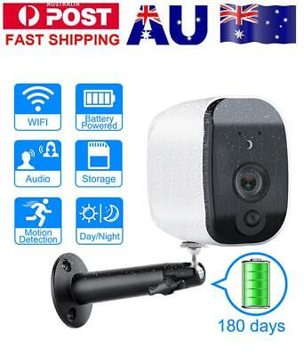 Security Camera Wireless Outdoor 960P WIFI Low Power Consumption Battery Powered