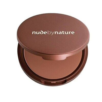 Nude by Nature Pressed Matte Mineral Bronzer 10g New Vegan Cruelty Free Natural