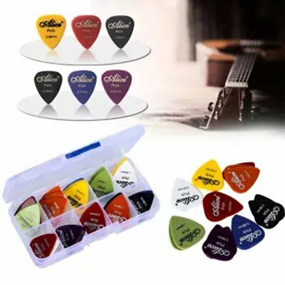 100X Acoustic Bulk Electric Smooth Guitar Pick Picks Plectrum 0.46mm 4L