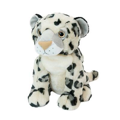 Microwavable Warmer Animal Teddy Hottie Wheat & Lavender Scented Snow Leopard