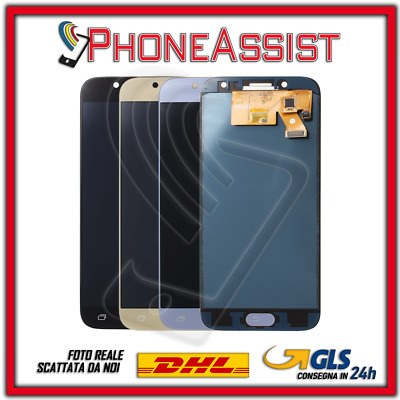DISPLAY LCD VETRO TOUCH SCREEN Samsung Galaxy J5 2017 J530F SCHERMO