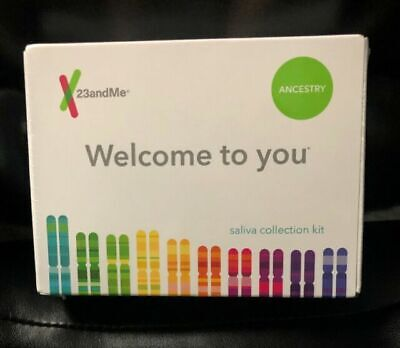 23andMe Personal Ancestry DNA Test Kit Brand New Sealed Saliva
