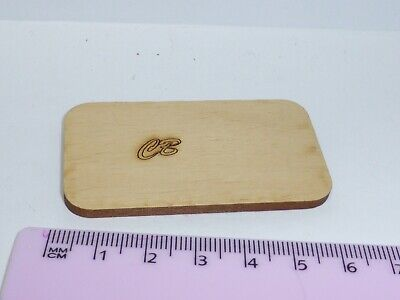 1to12 Scale Mini Cutting Board Wooden 35mm Chopping Board Butcher Cooking 1//12