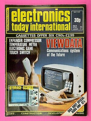 ELECTRONICS TODAY INTERNATIONAL Magazine - May 1976 - Expander Compressor