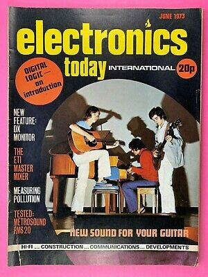 ELECTRONICS TODAY INTERNATIONAL Magazine - June 1973 - ETi Master Mixer