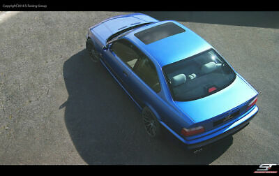 BMW E36 Schiebedach Blende sunroof delte panel GFK Attrappe