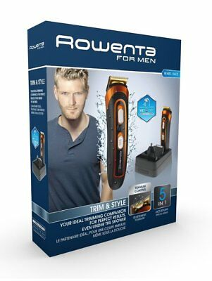 Rowenta Multistyler Trim&style 5 contre 1 TN9100F0 Tondeuse Barbe Corps Wet&dry