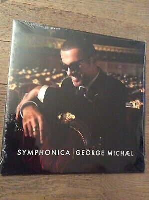 🎸 George Michael Symphonica [2 LP] Vinyl Album 1st PRESSING sealed  🎸