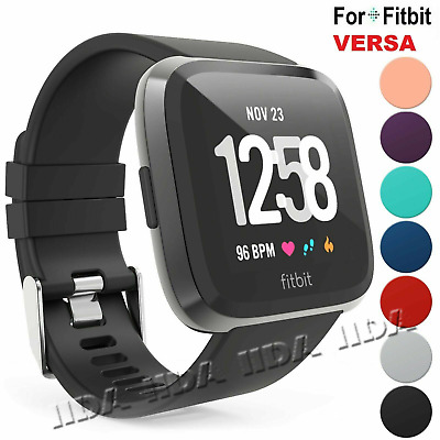 For Fitbit Versa Strap Band Wristband Watch Replacement Bracelet sport silicone
