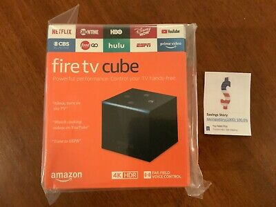 Amazon Fire TV Cube 4K 16GB 2nd Gen Streaming Media Player NEW LATEST 2019