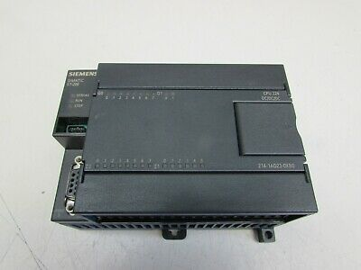Siemens Cpu224 6Es7214-1Ad23-0Xb0 Cpu Module Nice Used Takeout Make Offer !!