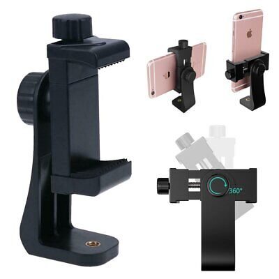 Smartphone Holder Tripod Adapter Cell Phone Bracket Mount Clip for Selfie Stick