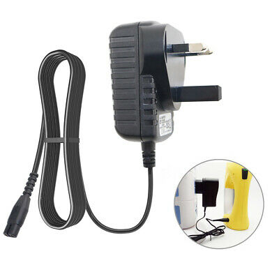 Window Vac Vacuum Battery Charger UK Plug Power Cable for Karcher WV50 WV55 WV60
