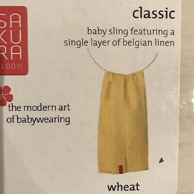 Sakura Bloom Classic Wheat Ring Sling Baby Carrier
