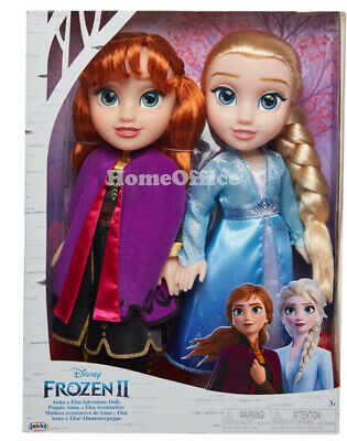Disney Frozen II Adventure Dolls Anna And Elsa