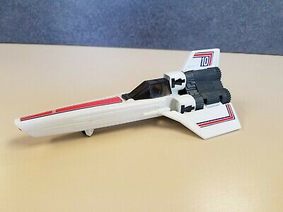 Vintage Mattel 1978 BATTLESTAR GALACTICA Colonial Viper with Pilot and Missile