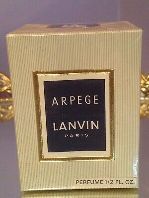 Vintage Lanvin Arpege Perfume .5 oz NO 869 Charles of the Ritz New in Box Sealed