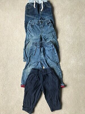 Baby Boys Jeans and Joggers  age 12-18 months, Gap, F&F, Cherokee, George