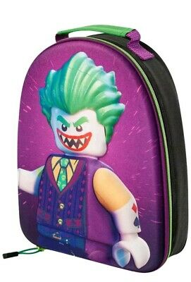 The Lego Batman 'Joker' 3D Lunch Bag Backpack Kids School Trips Official 9032