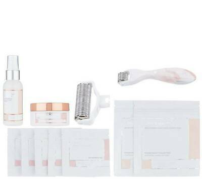 New~BEAUTYBIO GLOPRO FACIAL TOOL & BODY ATTACHMENT Pink  Microneedling Set
