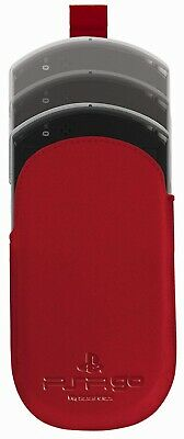 Exspect PSP GO Red Leather Slip Case For PSP N1000 - Officially Licensed Product