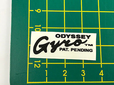 old school bmx decals stickers odyssey gyro cable decals pair gold chrome