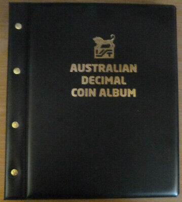VST AUSTRALIAN DECIMAL COIN ALBUM 1966 to 2019 for CIRCULATION COINS