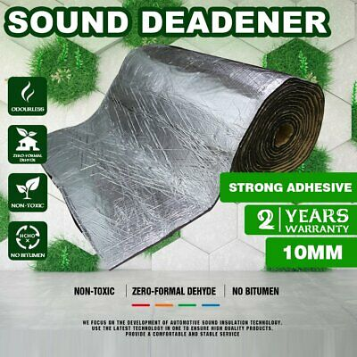 "Sound Dampening Deadener Heat Barrier Mat Automotive Thermal Insulation 160""x20"""