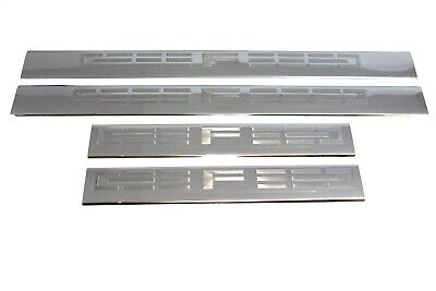 DOOR SILL PLATES Covers STAINLESS STEEL SPDO101 For RAM 1500 CREW CAB 2009-2018