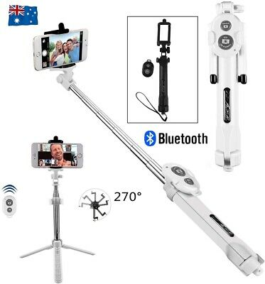 3 in 1 Bluetooth Extendable Handheld Remote Selfie Stick For Samsung iPhone 11