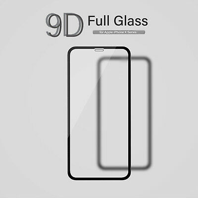 Gorilla For iPhone X/Xs/XR/XS Max 9D Full Tempered Glass Screen Protector Film