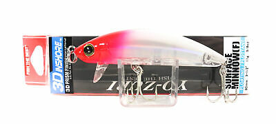 Yo-Zuri 3D Inshore SS Surface Minnow Floater Lure Red Head 90mm R1215-C4