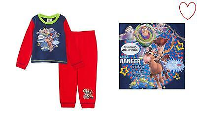 Childrens Boys Official Toy Story Pyjamas Pajamas Long Set