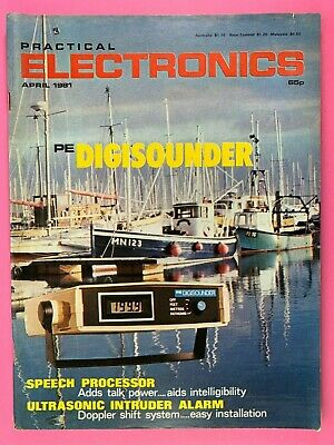 PRACTICAL ELECTRONICS - Magazine - April 1981 - Speech Processor - Digisounder
