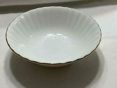 Royal Doulton  Val D'OR Oatmeal Cereal Bowl White Gold New