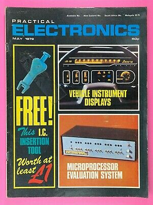 PRACTICAL ELECTRONICS - Magazine - May 1979 - Vehicle Instrument Displays