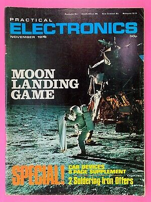 PRACTICAL ELECTRONICS - Magazine - November 1978 - Moon Landing Game